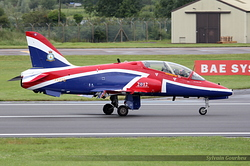 British Aerospace Hawk T1A Royal Air Force XX278