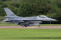 General Dynamics F-16AM Fighting Falcon Netherlands Air Force J-632