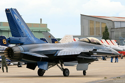 General Dynamics F-16AM Fighting Falcon Belgium Air Force FA-110