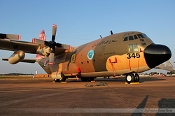 Lockheed C-130H Hercules Jordan Air Force 345