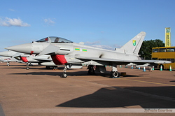 Eurofighter EF-2000 Typhoon FGR4 Royal Air Force ZJ934 / QO-T