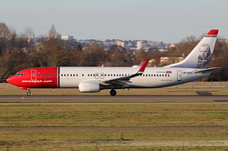 Boeing 737-8JP Norwegian Air Shuttle LN-DYF