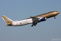 Airbus A330-243 Gulf Air A9C-KC