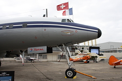Lockheed L-1049F Super Constellation Breitling HB-RSC