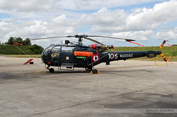 Sud-Aviation SA-319B Alouette III Marine Nationale 106