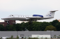 Gates Learjet 35A LAR - Luxembourg Air Rescue LX-ONE