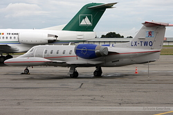 Gates Learjet 35A LAR - Luxembourg Air Rescue LX-TWO