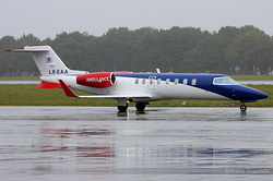 Learjet 45 LAR - Luxembourg Air Rescue LX-EAA