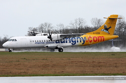 ATR 72-500 Aurigny Air Services G-VZON