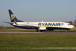 Boeing 737-8AS Ryanair EI-DLH