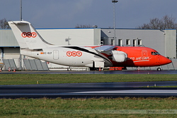 British Aerospace BAe 146-200QT Quiet Trader TNT Airways EC-ELT