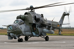 Mil Mi-24V Czech Republic Air Force 7354