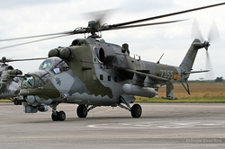 Mil Mi-24V Czech Republic Air Force 7355
