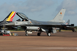 General Dynamics F-16AM Fighting Falcon Belgium Air Force FA-136