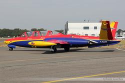 Fouga CM-170 Magister Groupe Tranchant F-AZZD