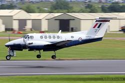 Raytheon B200 King Air Royal Air Force ZK450 / J