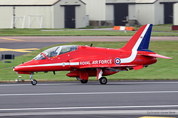British Aerospace Hawk T1A Royal Air Force XX323