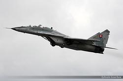 Mikoyan-Gurevich MiG-29UBS Slovakia Air Force 5304