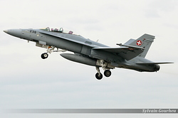 McDonnell Douglas F/A-18D Hornet Switzerland Air Force J-5238