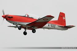Pilatus PC-7 Switzerland Air Force A-922