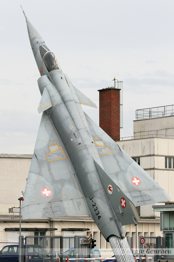 Dassault Mirage IIIS Switzerland Air Force J-2334