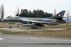Hawker Hunter F.58 Switzerland Air Force J-4045