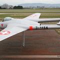 FFA Vampire FB6 (DH-100) Switzerland Air Force J-1156