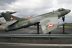 Hawker Hunter F.58 Switzerland Air Force J-4085