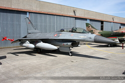 General Dynamics F-16B Fighting Falcon Denmark Air Force 6G-15 / ET-199