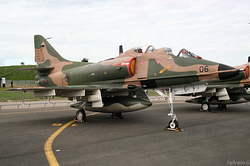McDonnell Douglas TA-4SU Skyhawk Singapore Air Force 06