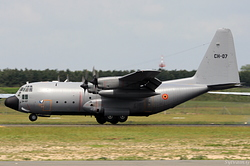 Lockheed C-130H Hercules Belgium Air Force CH-07