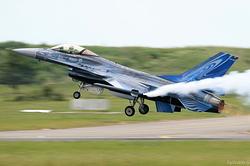 General Dynamics F-16AM Fighting Falcon Belgium Air Force FA-110