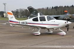 Cirrus SR 22 Armée de l'Air 3862 / F-HKCA
