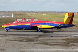 Fouga CM-170 Magister Groupe Tranchant F-GJMN