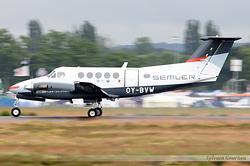 Beech 200 Super King Air Semler Gruppen OY-BVW