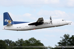 Fokker F50 Denim Air PH-JXK