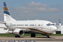 Boeing 737-7AW BBJ Jet Aviation Business Jets VP-CPA