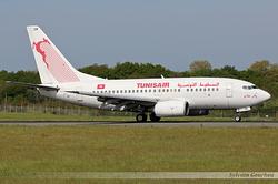 Boeing 737-6H3 Tunisair TS-IOM