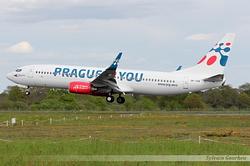 Boeing 737-8Z9(WL) Travel Service OK-TVK