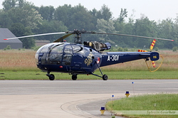 Sud-Aviation SA-316B Alouette III Netherlands Air Force A-301