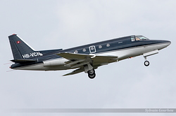 North American Rockwell NA-465 Sabreliner 65 Sonning Air HB-VCN