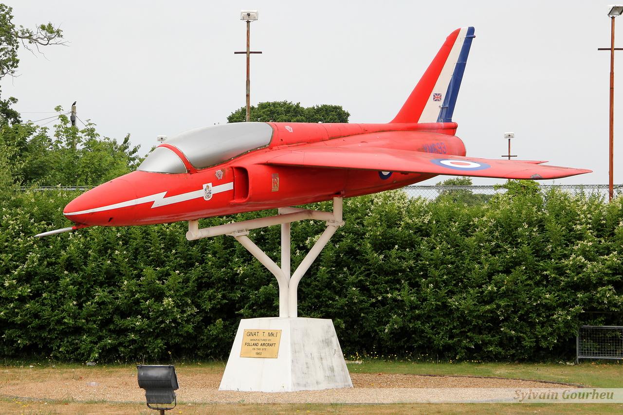 Hawker Siddeley Gnat T1 Royal Air Force XM693