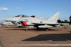 Eurofighter EF-2000 Typhoon FGR4 Royal Air Force ZK329 / FH