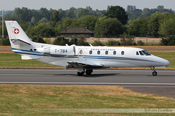 Cessna 560XL Citation Excel Switzerland Air Force T-784