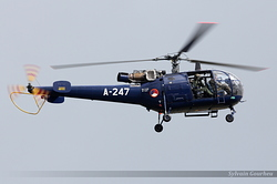 Sud-Aviation SA-316B Alouette III Netherlands Air Force A-247