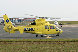 Eurocopter SA.365N Dauphin 2 Hélicoptères de France F-GPJE