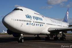 Boeing 747-283B(SF) Sky Express SX-FIN