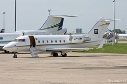 Canadair CL-600-2B16 Challenger 604 Princely Jets AP-GAK