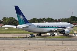 Boeing 767-2AX/ER Aramco N767A