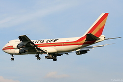 Boeing 747-259B(SF) Kalitta Air N701CK
